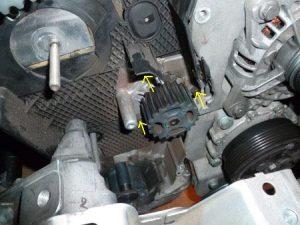 Depose pompe eau golf4 IV (24)