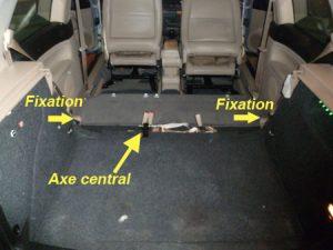 démonter sièges arrières golf4 IV (4)