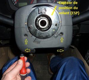 Capteur position volant golf4